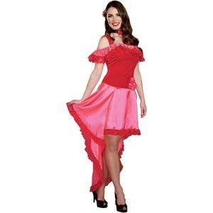 Spanish Rose Senorita Dancer Halloween Costume MED